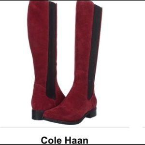 Cole Haan Jodhpur Suede Tall Boot Never Worn $348